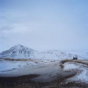 Eglise de Budir, typique de l'architecture islandaise.  Durant notre voyage en islande nous resterons 2 jours ici.