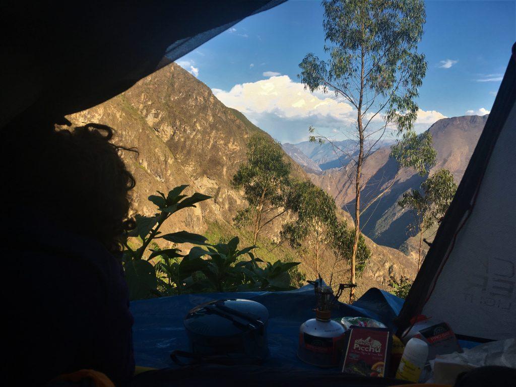 Trek au Pérou - Camping au Pérou