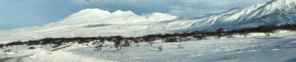 Voyage en Islande _ montagne gelée